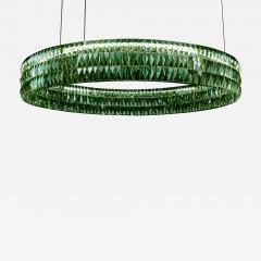 Georg Baldele GLITTERHOOP SAPPHIRE minimalist crystal chandelier - 1447667