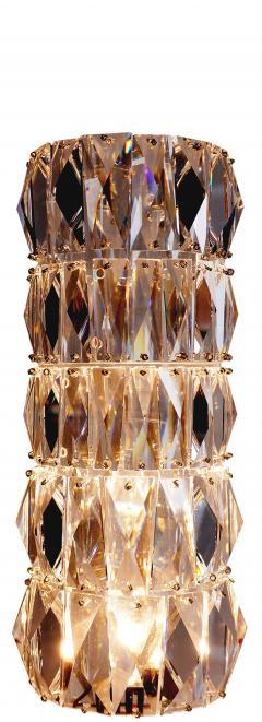 Georg Baldele GLITTERTUBE vertical crystal tube chandelier smaller version - 1509088