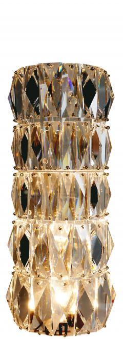 Georg Baldele GLITTERTUBE vertical crystal tube chandelier smaller version - 1509089