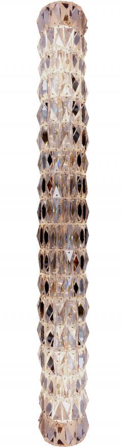 Georg Baldele GLITTERTUBE vertical crystal tube chandelier smaller version - 1509101