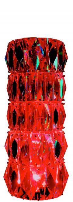 Georg Baldele GLITTERTUBE vertical crystal tube chandelier smaller version - 1509102