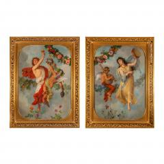 Georg Georg Cornicelius Pair of allegorical oil paintings by G Cornicelius - 1516301