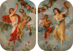 Georg Georg Cornicelius Pair of allegorical oil paintings by G Cornicelius - 1517902