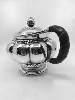 Georg Jensen Early Vintage Georg Jensen Sterling Silver Melon Teapot 159 - 2077275