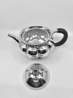 Georg Jensen Early Vintage Georg Jensen Sterling Silver Melon Teapot 159 - 2077278