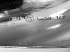 Georg Jensen Georg Jensen Large Sterling Cuff Bangle Bracelet C 1970 - 1194734