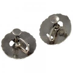 Georg Jensen Georg Jensen Silver Dove Earrings No 66 - 45950