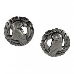 Georg Jensen Georg Jensen Silver Dove Earrings No 66 - 46126