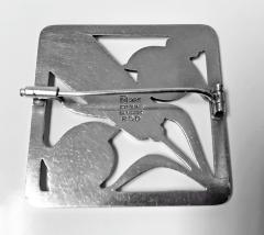 Georg Jensen Georg Jensen Sterling Silver Birds Brooch 1933 44 - 1246839