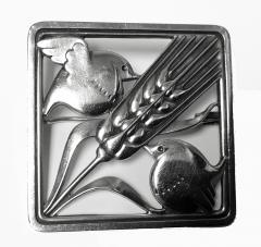 Georg Jensen Georg Jensen Sterling Silver Birds Brooch 1933 44 - 1246841