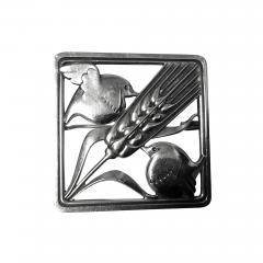 Georg Jensen Georg Jensen Sterling Silver Birds Brooch 1933 44 - 1248284