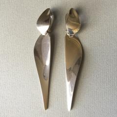 Georg Jensen Georg Jensen Sterling Silver Dangle Earrings by Nanna Ditzel No 128A - 176283