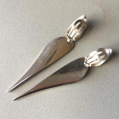 Georg Jensen Georg Jensen Sterling Silver Dangle Earrings by Nanna Ditzel No 128A - 176285