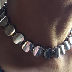 Georg Jensen Georg Jensen Sterling Silver Modern Necklace No 124 by Nanna Ditzel - 105624