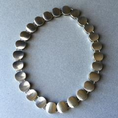 Georg Jensen Georg Jensen Sterling Silver Modern Necklace No 124 by Nanna Ditzel - 105626