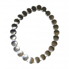 Georg Jensen Georg Jensen Sterling Silver Modern Necklace No 124 by Nanna Ditzel - 107290