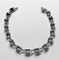 Georg Jensen Georg Jensen Sterling Silver Necklace American C 1940  - 2015980