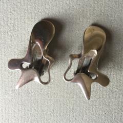 Georg Jensen Georg Jensen Sterling Silver Splash Earrings No 118 by Henning Koppel - 147515