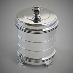 Georg Jensen Georg Jensen Sterling Silver Very Rare Tobacco Jar No 796 by Jorgen Jensen - 1875167