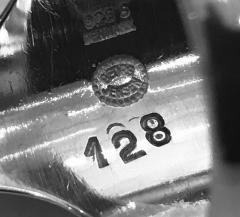 Georg Jensen Georg Jensen Sterling Silver ring 128 designed Henning Koppel  - 1524359