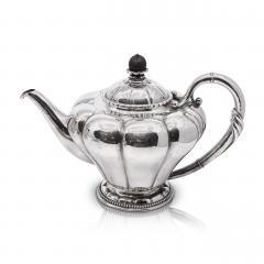 Georg Jensen Rare Antique Georg Jensen Art Nouveau Tea Coffee Service 3 - 2088567