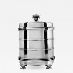 Georg Jensen Rare Georg Jensen Sterling Silver Art Deco Cookie Jar 796 - 2094069