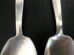 Georg Jensen Silver Salad Server Set in Bittersweet Pattern by Georg Jensen - 566583