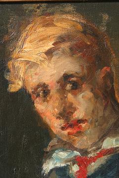 George Benjamin Luks Portrait of a Boy - 242255
