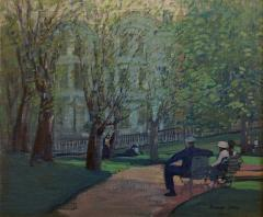 George Benjamin Luks Summer Day Boston Public Garden - 243033