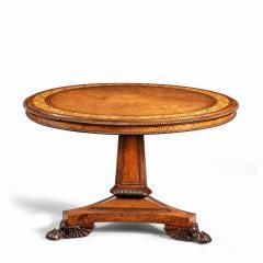 George Bullock A George IV tilt top centre table by George Bullock - 1688286