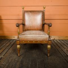 George Bullock An English 1920s open armchair in the manner of George Bullock - 2128938