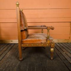 George Bullock An English 1920s open armchair in the manner of George Bullock - 2128940
