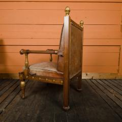 George Bullock An English 1920s open armchair in the manner of George Bullock - 2128984