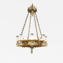 George Bullock Antique English Regency Period Giltwood Chandelier of Spectacular Proportions - 1221833