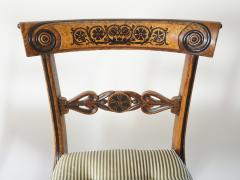 George Bullock Chairs by George Bullock Set of 4 England 1816 - 788125