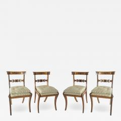 George Bullock Chairs by George Bullock Set of 4 England 1816 - 791225