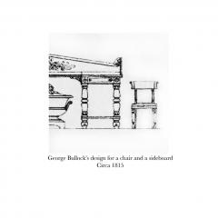 George Bullock Early 19th Century Set of Six Regency Dining Chairs - 1077858
