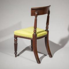 George Bullock Eight Regency Dining Chairs 19th Century - 1173894