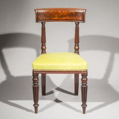 George Bullock Eight Regency Dining Chairs 19th Century - 1173895