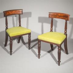 George Bullock Eight Regency Dining Chairs 19th Century - 1173897