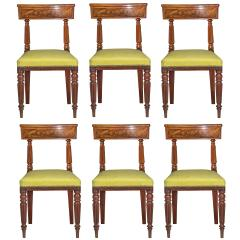 George Bullock Eight Regency Dining Chairs 19th Century - 1173900