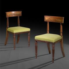 George Bullock Eight Regency Dining Chairs 19th Century - 1173905
