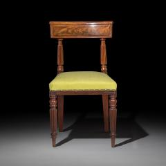 George Bullock Eight Regency Dining Chairs 19th Century - 1173906