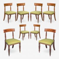 George Bullock Eight Regency Dining Chairs 19th Century - 1175220