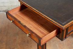 George Bullock Regency Burl Yew and Ebony Writing Table - 1854867