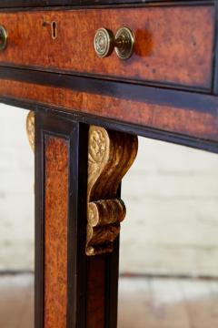 George Bullock Regency Burl Yew and Ebony Writing Table - 1854868