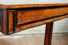 George Bullock Regency Burl Yew and Ebony Writing Table - 1854869