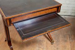 George Bullock Regency Burl Yew and Ebony Writing Table - 1854870