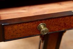 George Bullock Regency Burl Yew and Ebony Writing Table - 1854871