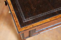 George Bullock Regency Burl Yew and Ebony Writing Table - 1854873